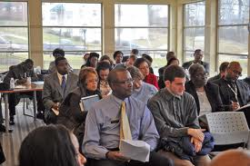 members of public attend meeting of Prince George's County Council committee